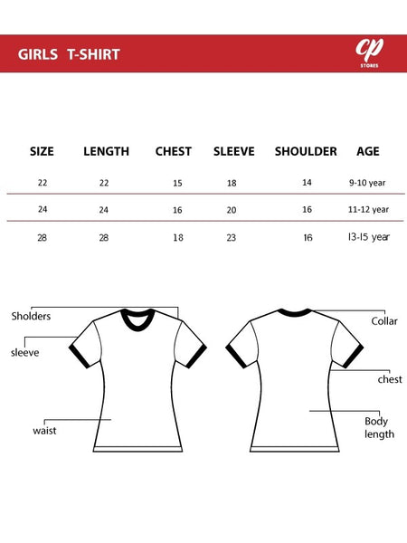 Cut Price Full Sleeves T-Shirt for Girls Glitter E ChaCoCo Red 9YR-12YR