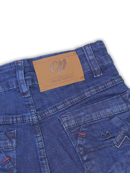 10 Yrs - 16 Yrs Denim Jeans For Boys Blue