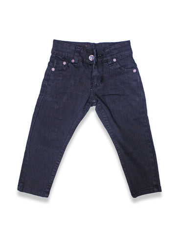 1.5 Yrs - 12 Yrs Power Stretch Jeans For Boys Black