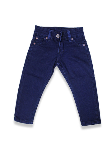 1.5 Yrs - 12 Yrs Power Stretch Jeans For Boys Navy Blue