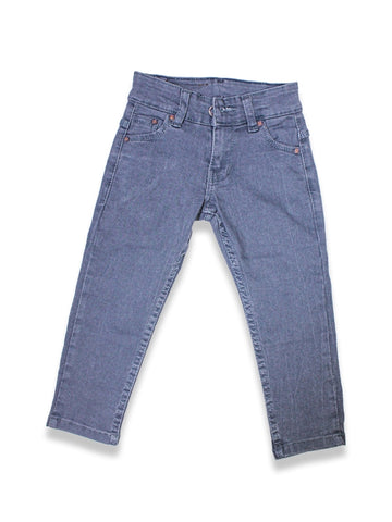 1.5 Yrs - 12 Yrs Power Stretch Jeans For Boys Ash Grey