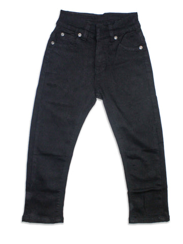 5 Yrs - 13 Yrs Power Stretch Jeans For Boys Jet Black