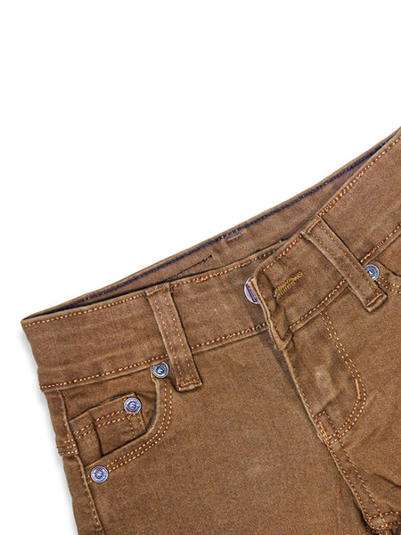 1.5 Yrs - 12 Yrs Power Stretch Jeans For Boys Light Brown