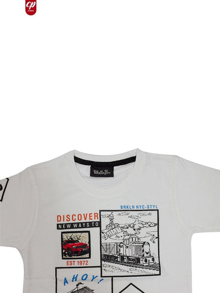 Cut Price Kids T-Shirt ATT 2YRS-10YRS 1972 White