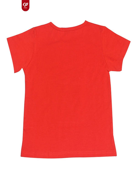 Cut Price Kids T-Shirt Xtreme 10M-3.5 YR Beiber Red