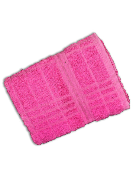 Towel (24*45 Inches) Pack Of 2 Red Pink