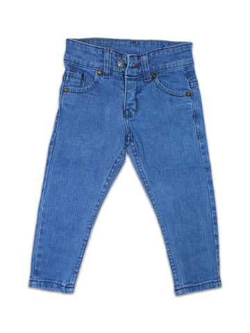 3 Yrs - 13 Yrs Denim Jeans For Boys Light Blue