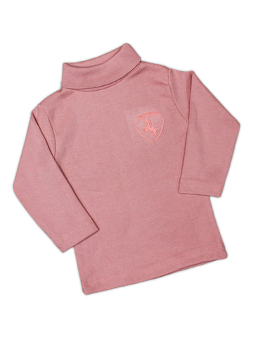 ATT Hi-Neck for Kids 6Mth - 3.5 Yrs Bubble Pink