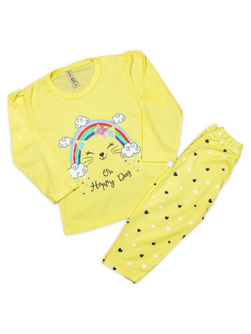 AKC Baby Suit 1.5 Yrs - 3.5 Yrs Happy Yellow