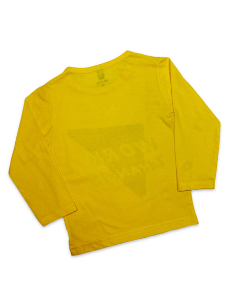 0007 Kids Suit 2Yr - 4.5Yr Work Yellow