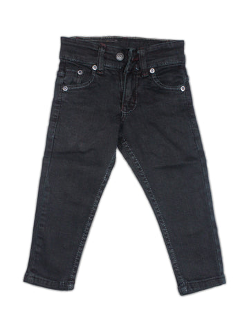 3 Yrs - 13 Yrs Denim Jeans For Boys Needs Black