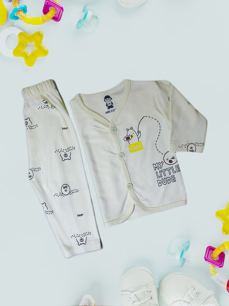 Newborn Suit 4Mth - 10Mth Cute Light Yellow