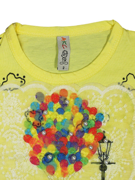 AKC New born Baby Suit 6Mth - 9Mth Balloon Yellow