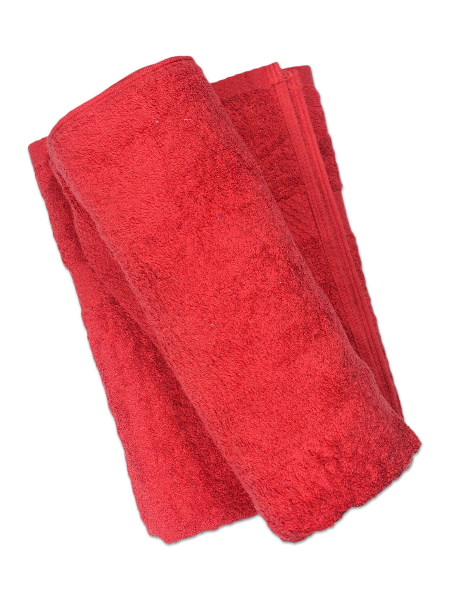 Super Absorber Bath Towel (24*48) Pack of Two Red