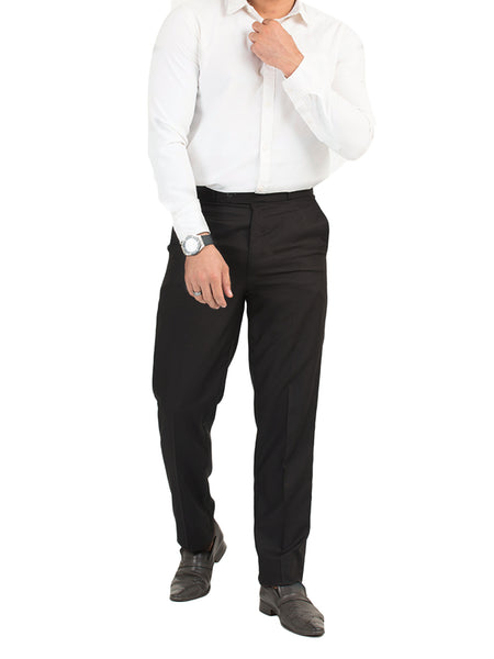 Dress Pant Trouser Formal for Men Platinum Co Black