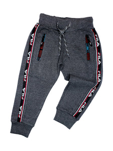 MK 2 Yrs - 6 Yrs Boys Trouser Sport Zip Dark Grey