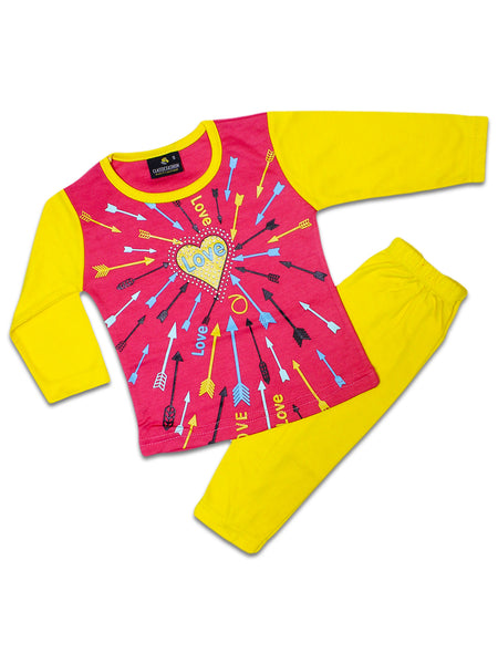 CF Baby Suit 1.5 Yrs - 3.5 Yrs Heart Love Red