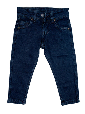 3 Yrs - 13 Yrs Denim Jeans For Boys Prussian Blue