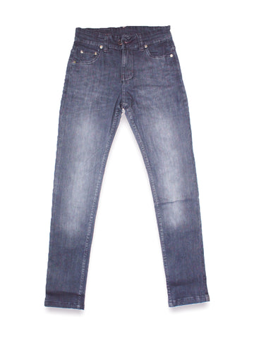 12 Yrs - 16 Yrs Denim Jeans For Boys Grey