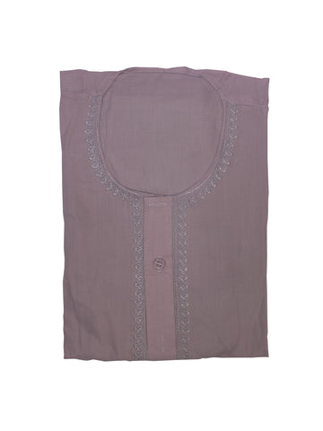 KR7 Kurta For Men Purple Pink