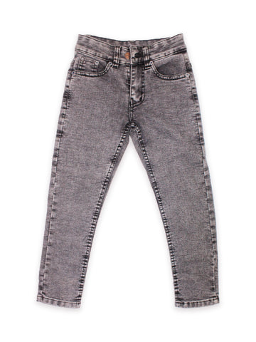 5 Yrs - 16 Yrs Forever Stretch Jeans For Boys Mud Grey