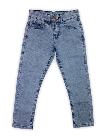 5 Yrs - 16 Yrs Forever Stretch Jeans For Boys Grey Blue