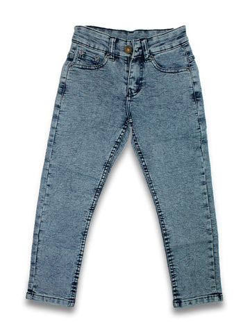 5 Yrs - 16 Yrs Forever Stretch Jeans For Boys Slate Blue
