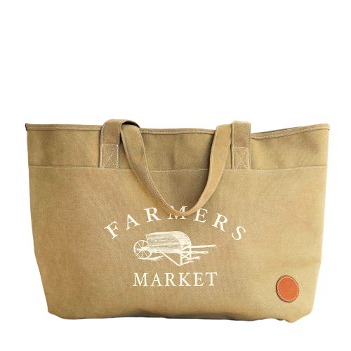 PVC coated Farmers Market bag