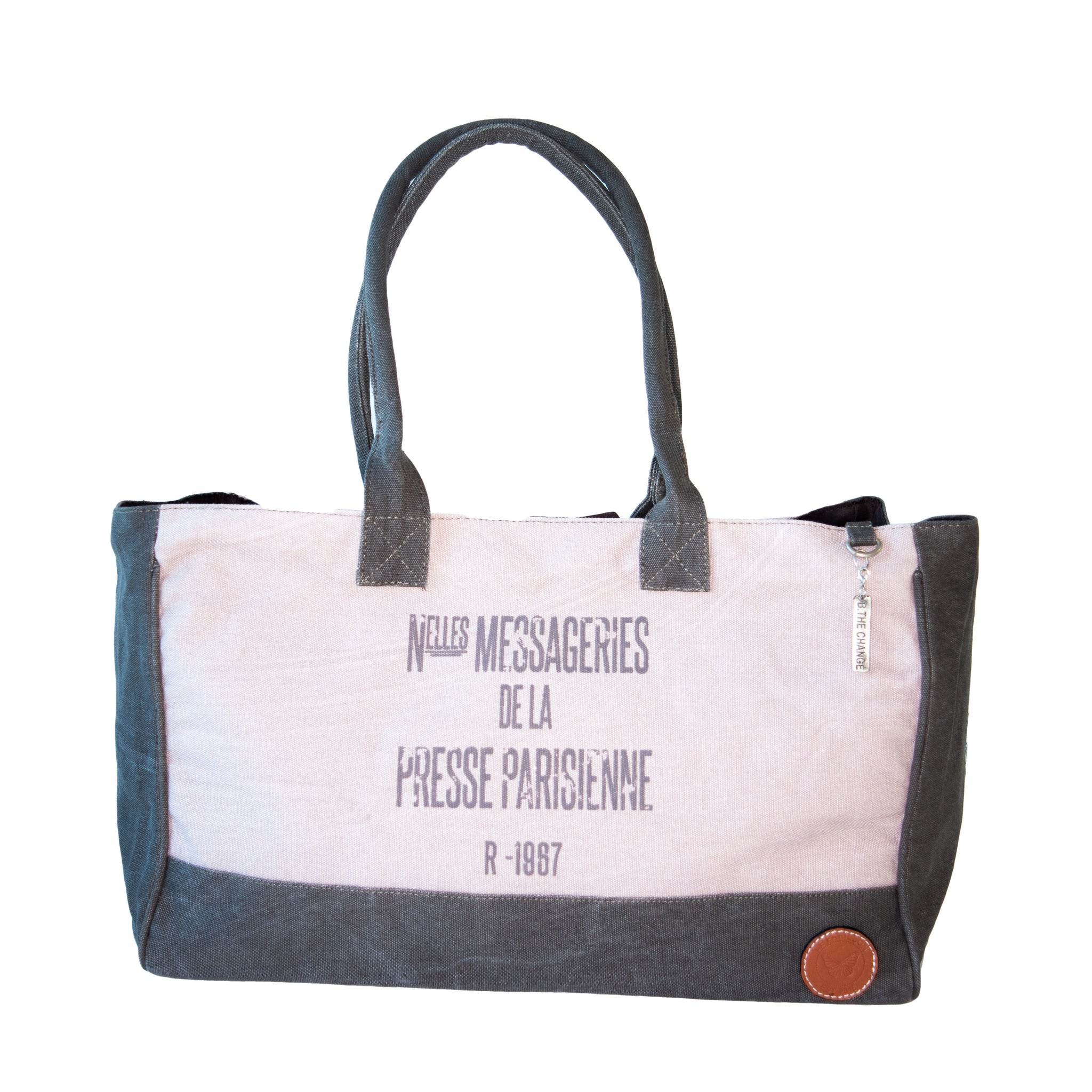 Presse Parisienne Canvas Tote