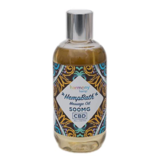Hemp Signature Massage Body Oil 500mg