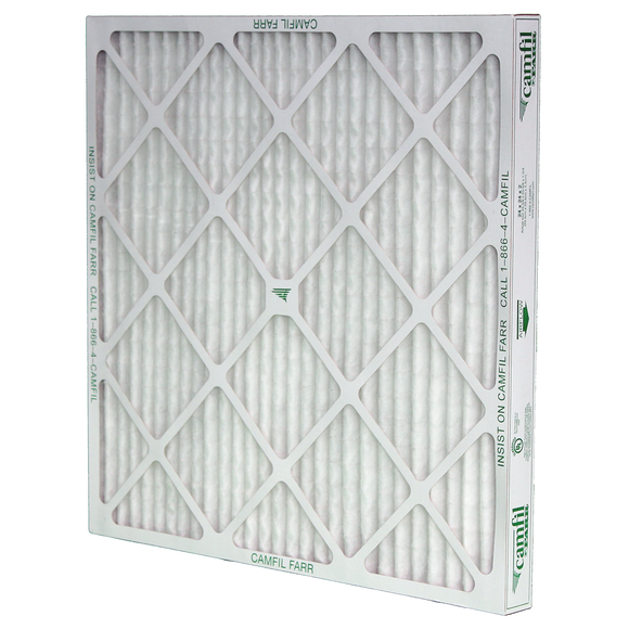Camfil AP-Thirteen High Capacity MERV 13 Pleated Panel Air Filter - 14x25x2 - Synthetic