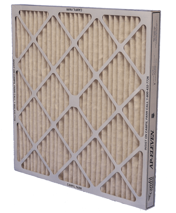 Camfil AP-Eleven High Capacity MERV 11 Pleated Panel Air Filter - 25x29x4 - Synthetic blend