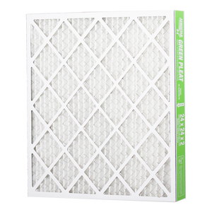 Filtration Group Aerostar Green Pleat High Capacity MERV 13 Pleated Panel Air Filter - 16x25x4 - Synthetic