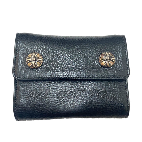 Chrome Hearts Lil Spoon Wallet Black