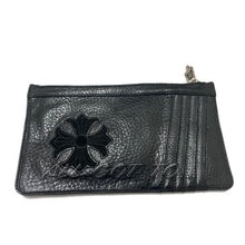 Load image into Gallery viewer, Chrome Hearts Easy Money Wallet Large Black