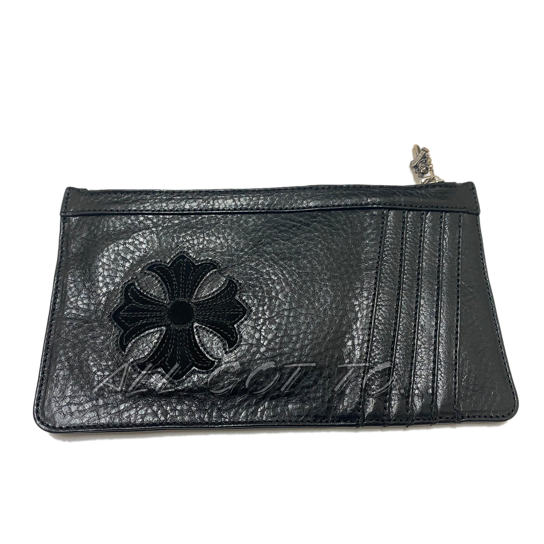 Chrome Hearts Easy Money Wallet Large Black