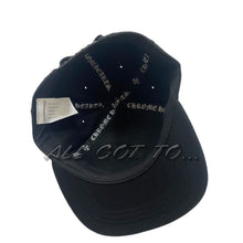 Load image into Gallery viewer, Chrome Hearts Horseshoe Baseball Denim Cap