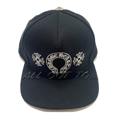 Chrome Hearts Horseshoe Baseball Denim Cap