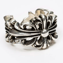 Load image into Gallery viewer, Chrome Hearts Double Floral Ring