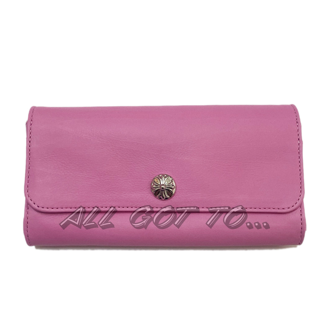 Chrome Hearts Judy Wallet Pink