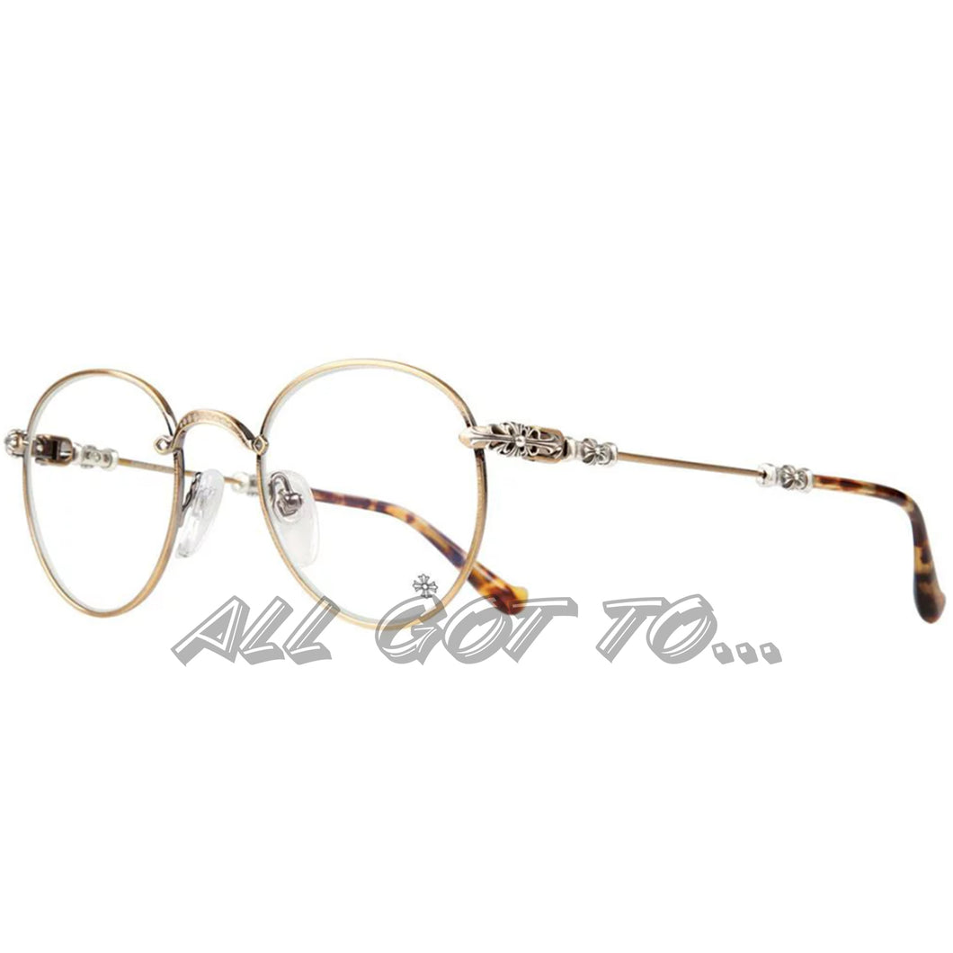 Chrome Hearts BUBBA Gold/Tortoise