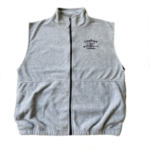 Men's Fleece Full Zip Vest