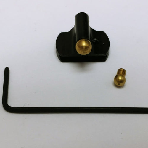 Large and Small Interchangeable Brass Bead Front Rifle Sight Uberti 1873 / 1866 Rossi and Marlin .410 and .450