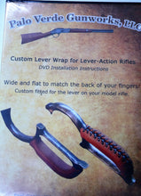 Load image into Gallery viewer, Leather Lever Wrap for Lever Action Rifles w/ DVD Uberti, Henry, Winchester, Marlin