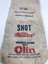 Load image into Gallery viewer, Vintage Winchester American Standard Canvas Bag 25lbs