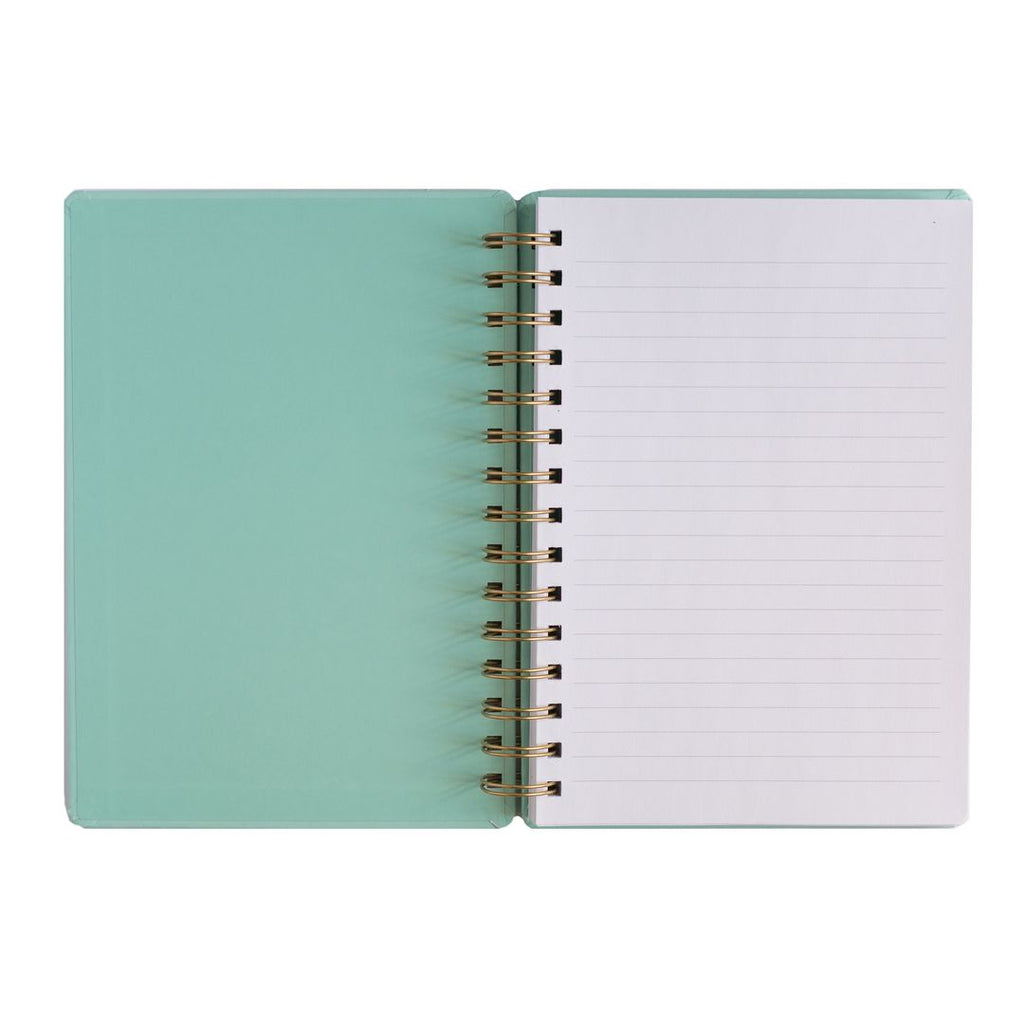 Boss Lady Mint Spiral Notebook