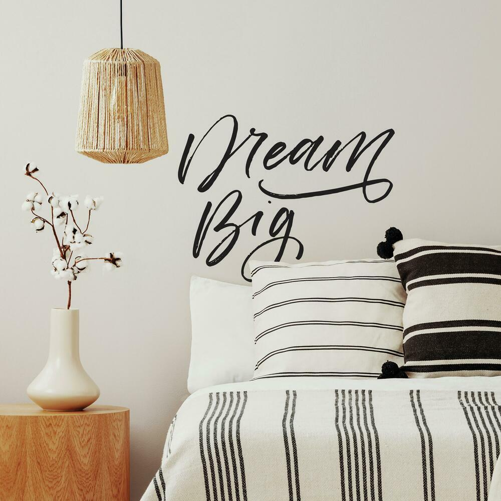 Dream Big Peel and Stick Wall Decals