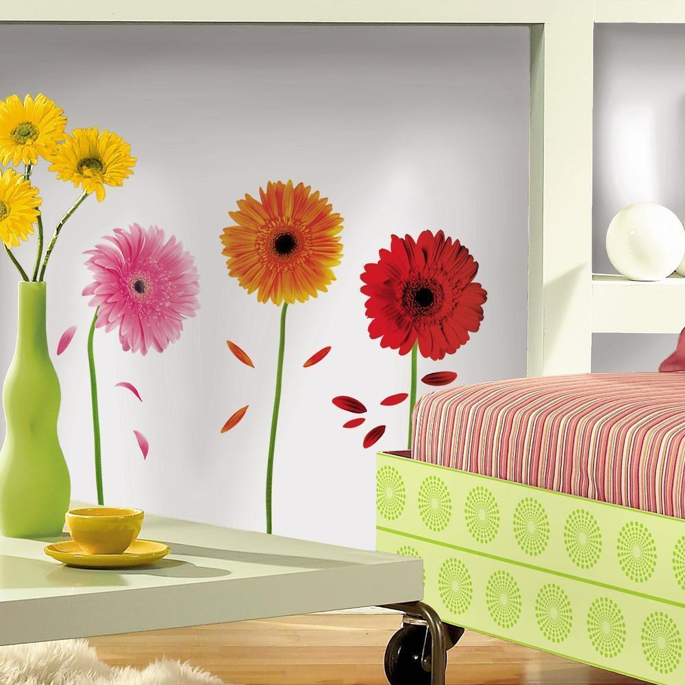 Gerber Daisies Wall Decals  for any room in the home