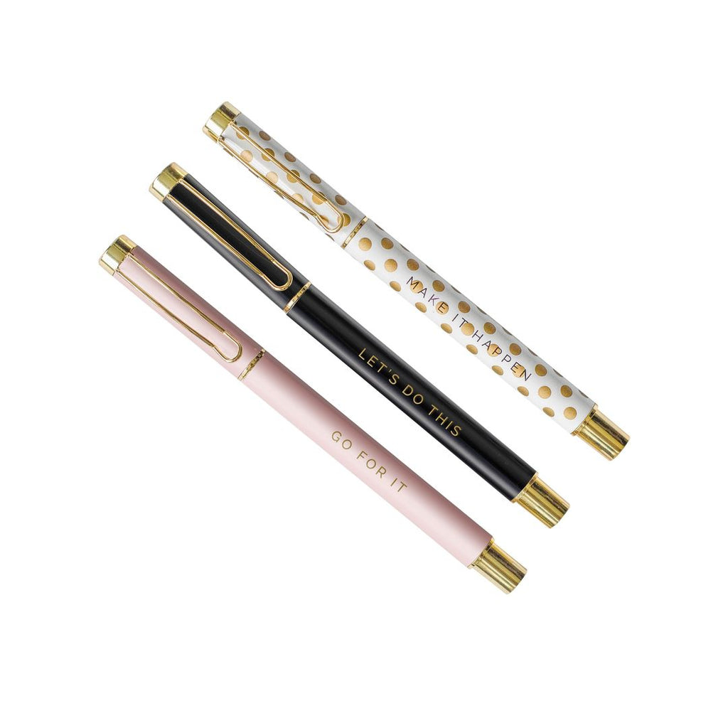 Inspirational Metal Pen sets