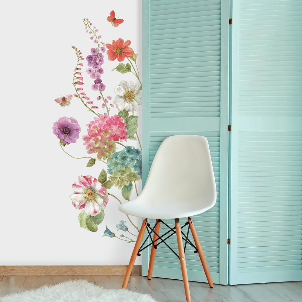 Lisa Audit Garden Flower Giant Wall Decals are perfect for any room in your home